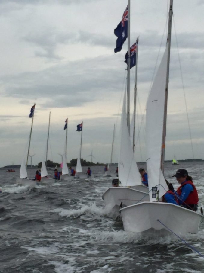 The Australian team preparing for the upcoming Worlds.
