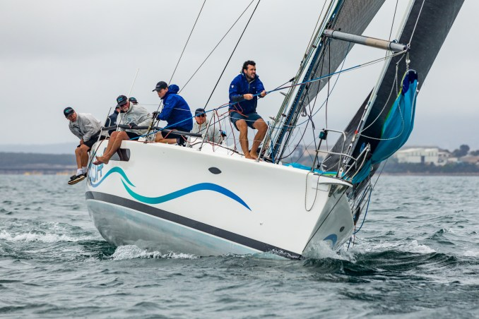 Kym Clarke's Fresh finished the regatta off well. Photos: Take 2 Photography