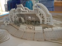 physical model of Arcosanti