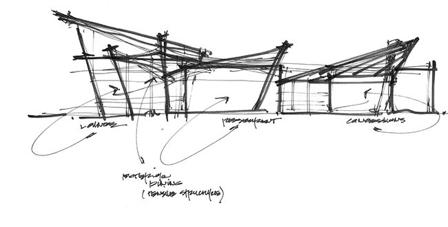 Architecture Design Sketches Project Parti In Inspiration Decorating
