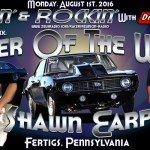 Shawn Earp is JB's Pick for Racer of the Week:  August 1st!