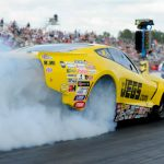 NHRA J&A SERVICE PRO MOD DRAG RACING SERIES DEFENDING CHAMP TROY COUGHLIN EYES LATE RUN AT AAA INSURANCE NHRA MIDWEST NATIONALS
