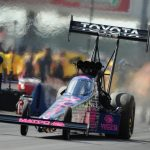 REIGNING TOP FUEL WORLD CHAMP ANTRON BROWN HOPES TO FINISH THE JOB A SECOND TIME AT NHRA TOYOTA NATIONALS