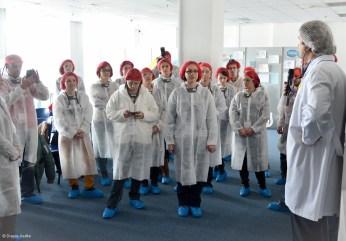 Vizită fabrica Danone - Prezentare