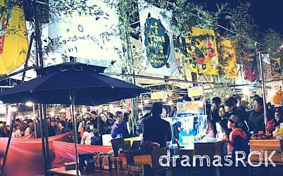 yeouido night bazaar
