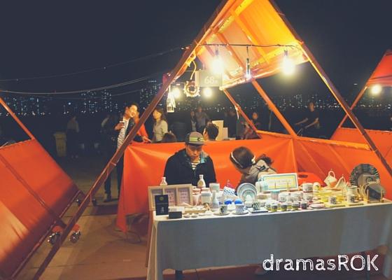 yeouido tents