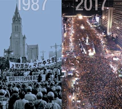 democracy in korea