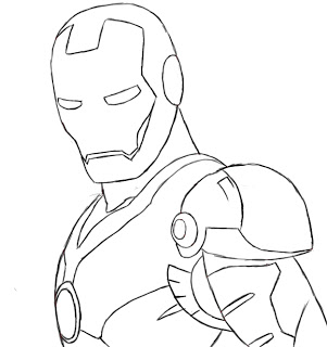 How To Draw Iron Man Draw Central
