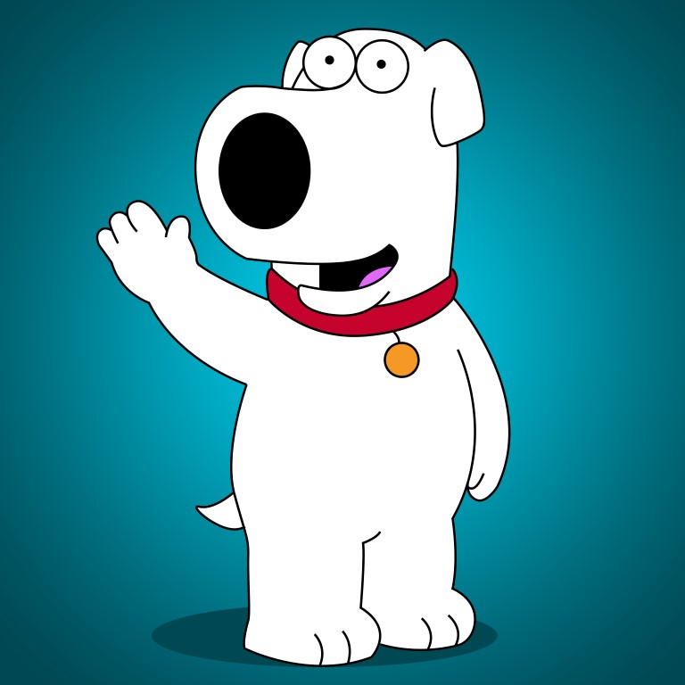 How To Draw Brian Griffin From Family Guy Draw Central