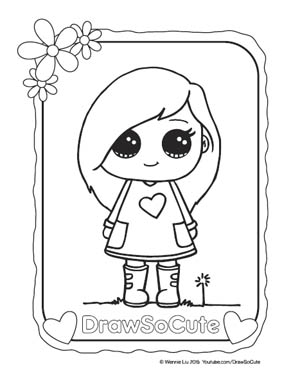 Coloring Page Sohie ...
