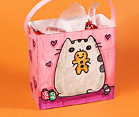 mini gift bag pusheen