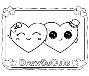 Coloring Pages – Draw So Cute