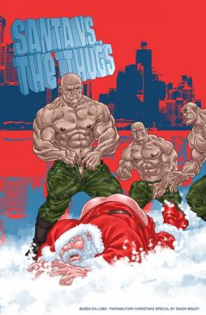 thug vs santa