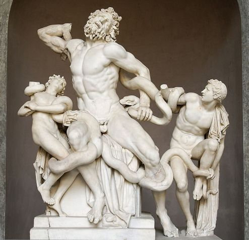 Laocoön and His Sons, Greek sculpture, Vatican Museum
