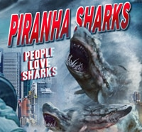 Piranha Sharks Unleashed Online This Friday