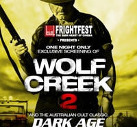 UK Readers: Near London? See Wolf Creek 2 for Free this Thursday 4 September!