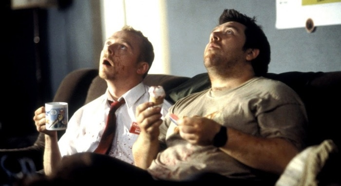 Shaun & Ed from Shaun of the Dead