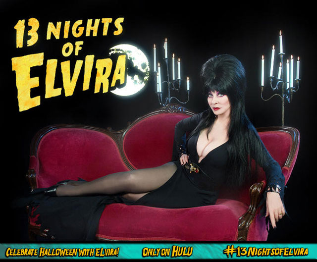Hulu to Air 13 Night of Elvira