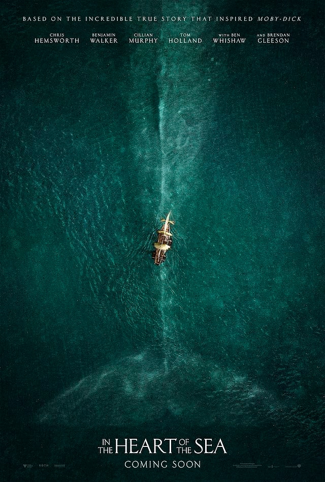 in the heart of the sea - New Trailers Travel In the Heart of the Sea
