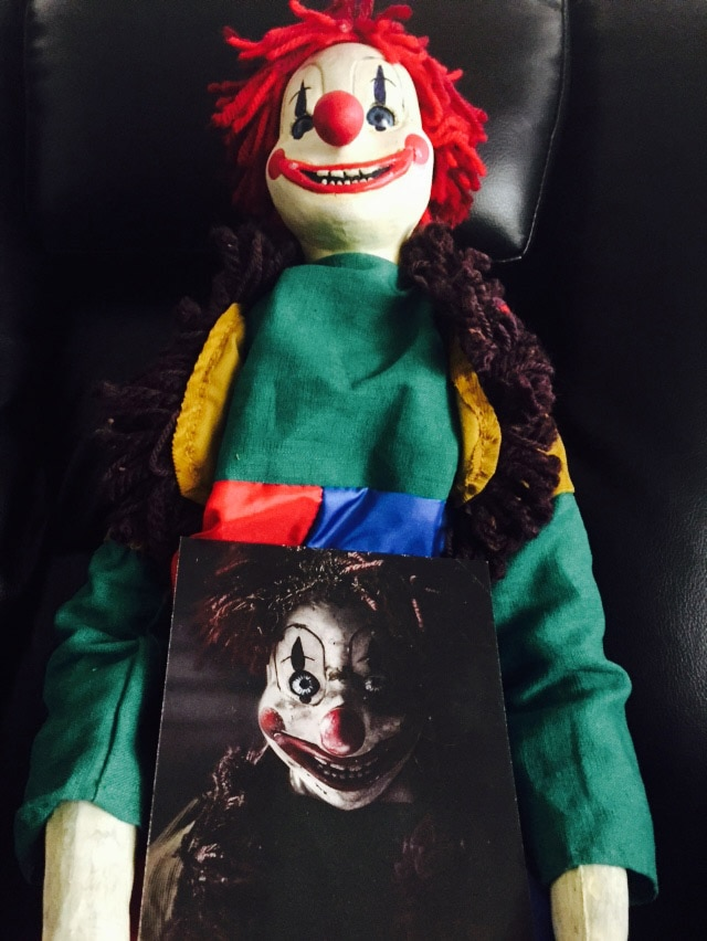 Poltergest Clown Doll In Box Of Dread May 2015 Seventh Box
