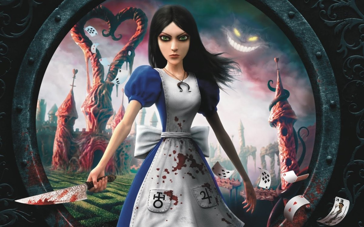 Alice Madness Returns poster