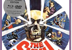 The Skull UK Blu-ray Sleeve
