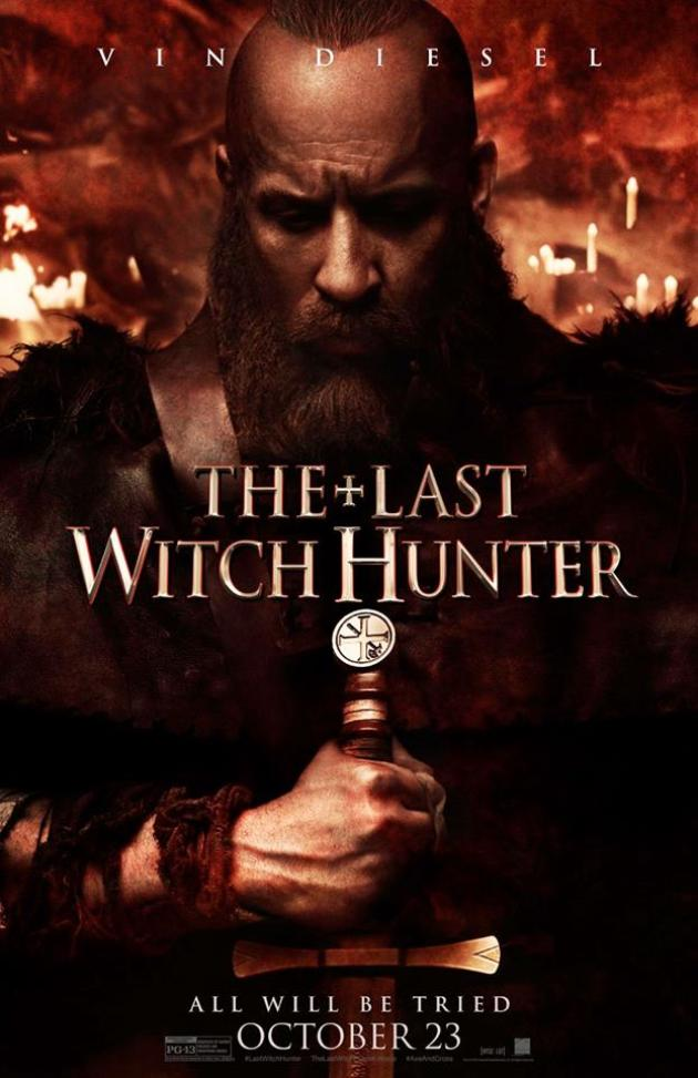 last witch hunter poster 4 - New The Last Witch Hunter TV Spots and Sizzle Reel Cast a Spell