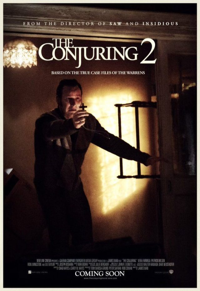 conjuring 2 poster.jpg?zoom=1 - The Conjuring 2 Opening Scene Spoilers; Producers Talk Sequel/Prequel/Spin-Off Possibilities