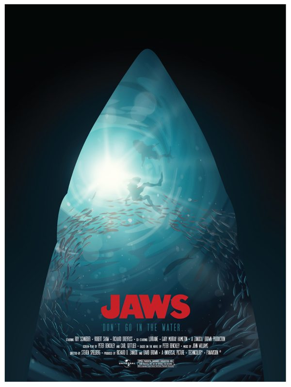 The 20 Most Awesome Fan-Made JAWS Posters - Dread Central