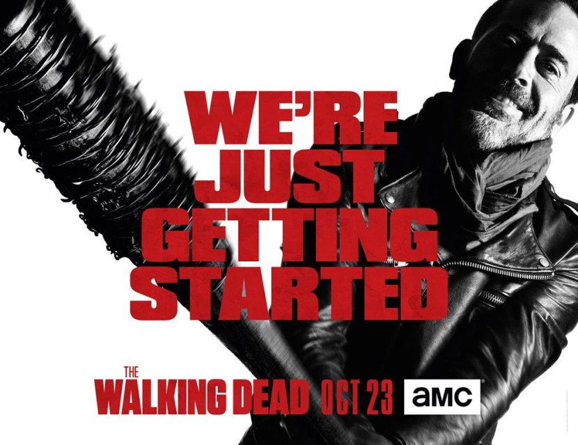 TWDseason7keyart - AMC Renews The Walking Dead for Eighth Season Ahead of Season 7 Premiere