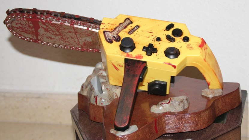 No word yet on a port of the chainsaw controller