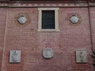 Convento de los Trinitarios Descalzos - Detalle de los escudos