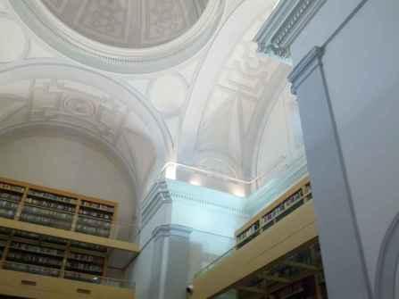 Convento de los Trinitarios Descalzos - Detalle de la Biblioteca