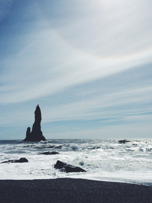Reynisdrangar Rock Formations, South Shore Iceland