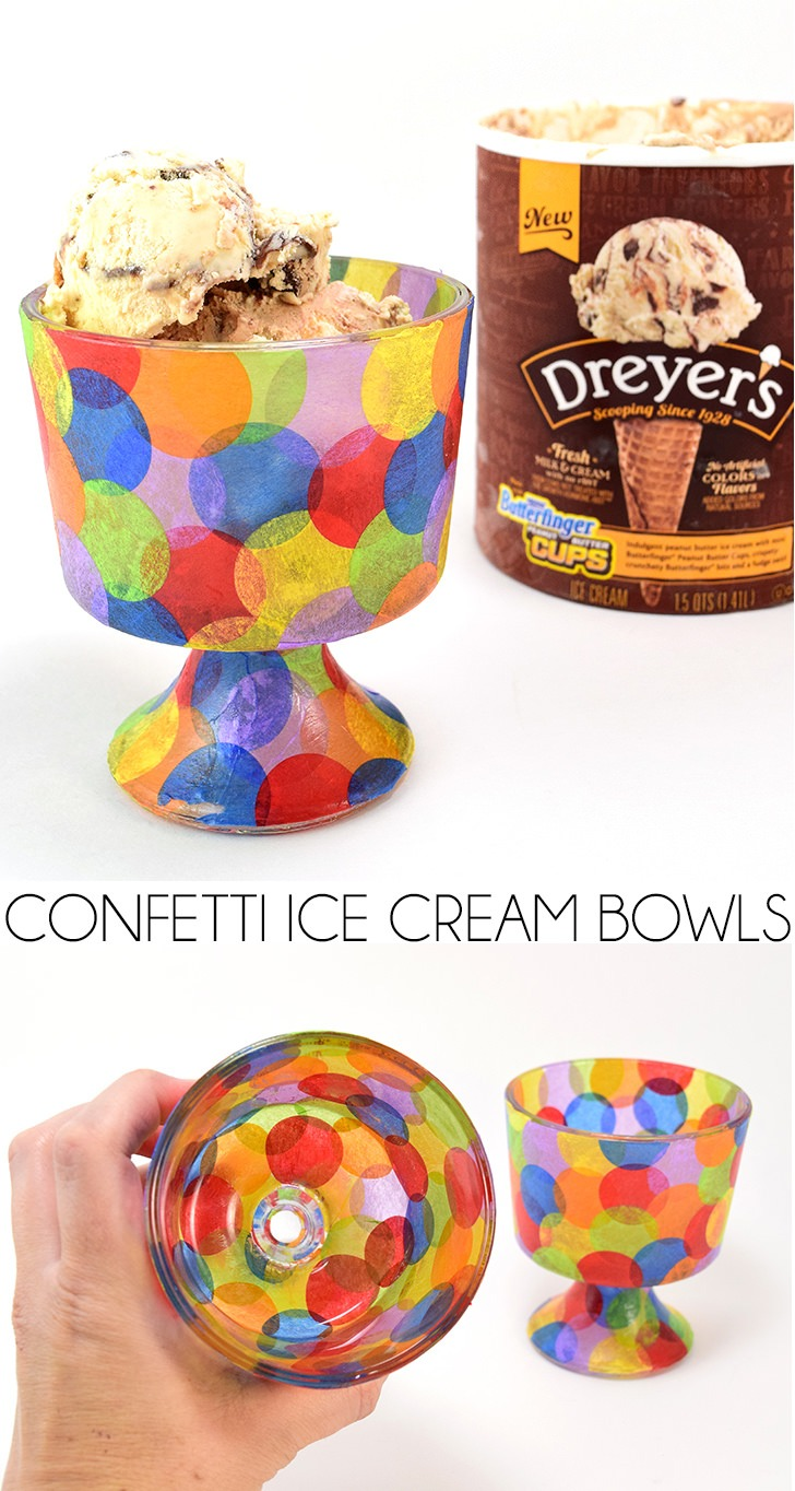 Large Of Ice Cream Bowls