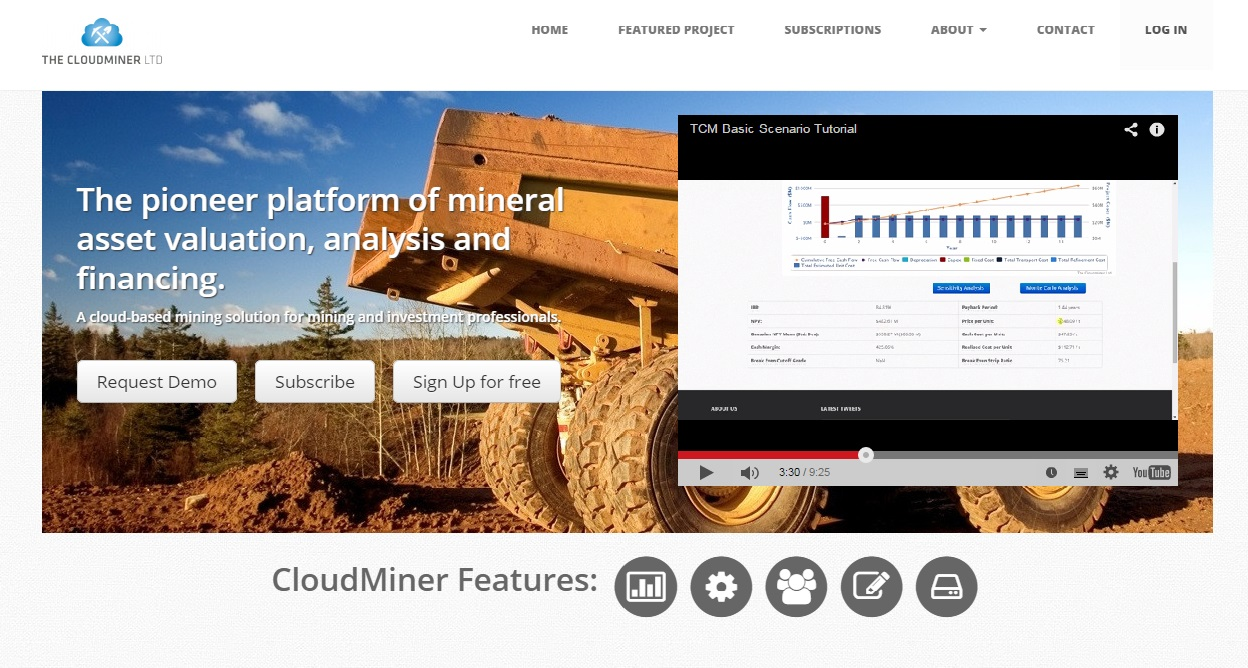 Screen Cap of cloudminer