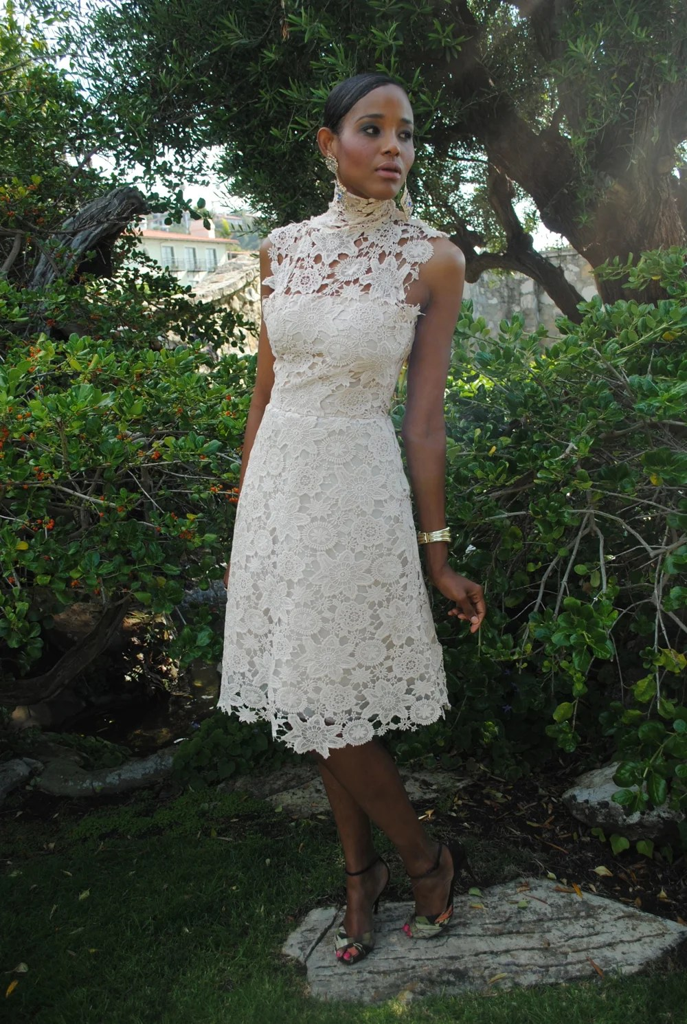 Fullsize Of Ivory Lace Dress