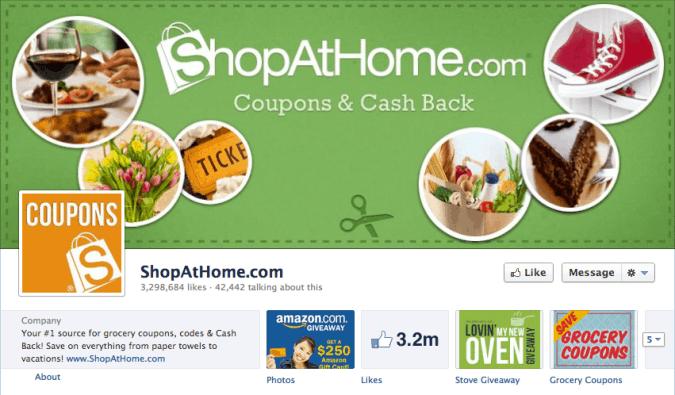 shopathome facebook cover photo