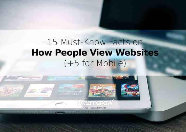 how people view websites