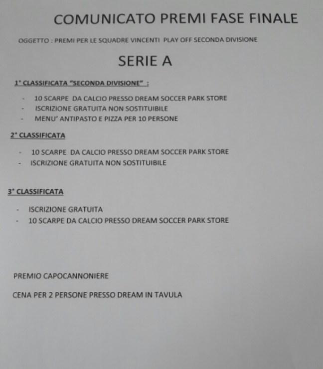 premi-seconda-divisione-serie-a