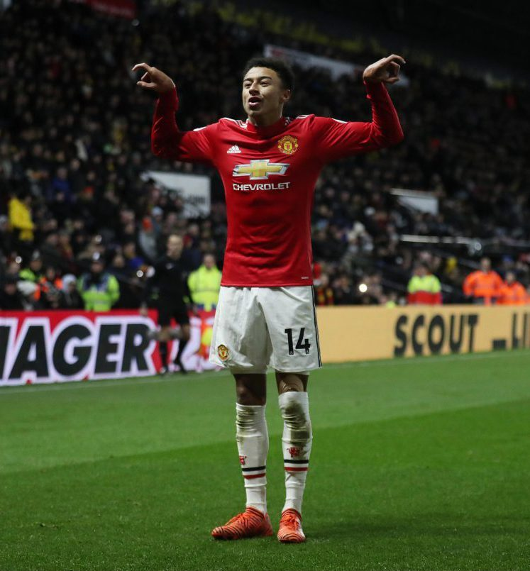 What is the Jesse Lingard dance and why are we seeing it during a     Another classic dance against Watford