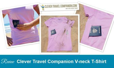 Safe Travels in this Awesome Pink Pickpocket Proof T-shirt