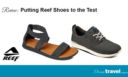 Walk for miles with Reef Shoes made with Swellular Technology