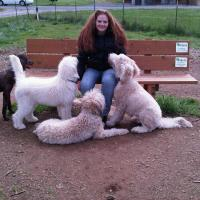 Me and my Doods at the dog park..