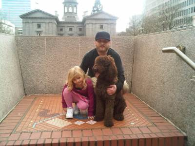 Daisy and the Family in Portland