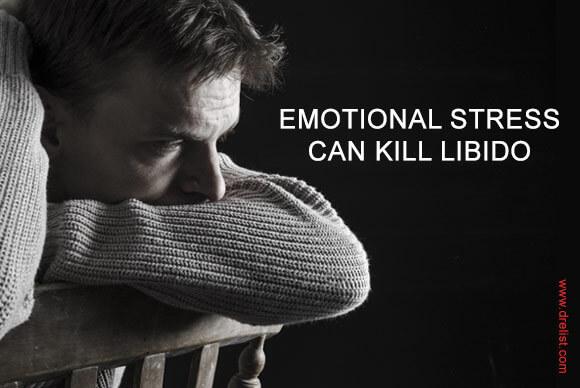 Emotional Stress Can kill Libido Image