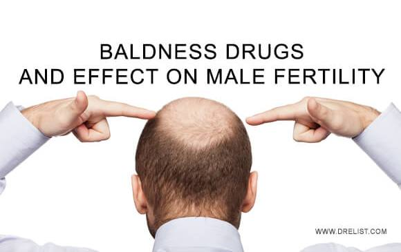 Baldness Drugs And Effect On Male Fertility image