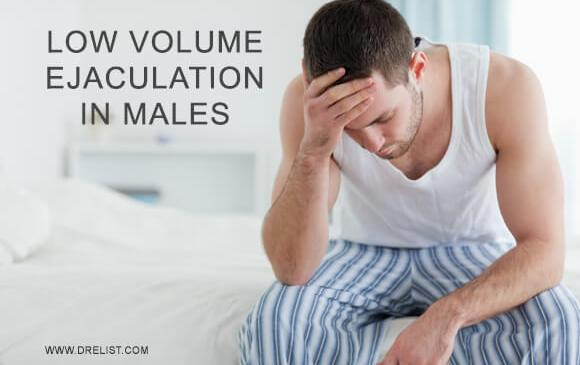 Low Volume Ejaculation In Males image