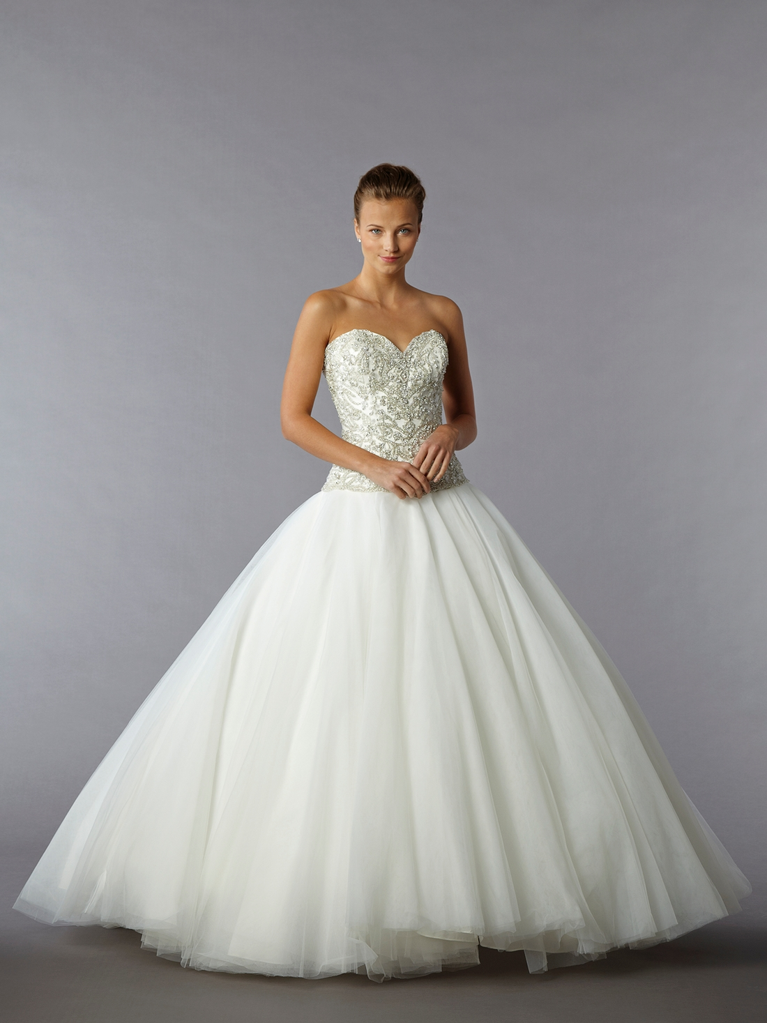 drop waist wedding dresses with bling bling wedding dresses Drop Waist Wedding Dress Dressed Up Girl