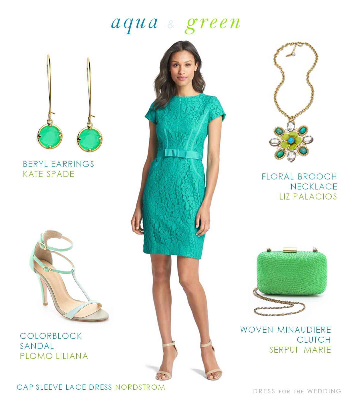 aqua and green dress for a wedding guest nordstrom wedding guest dresses